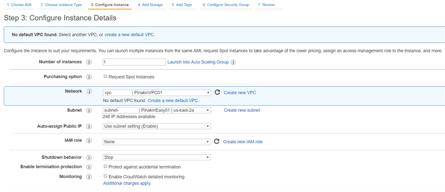 Setting up SQL Server on Red Hat Linux in AWS - Part 1