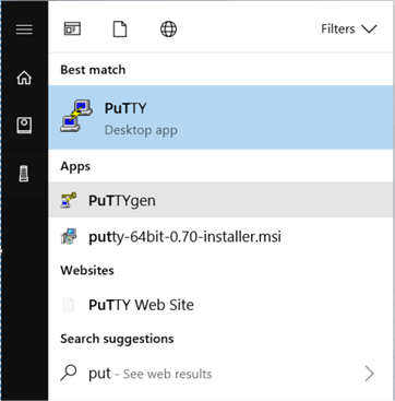 PuTTy doesn't support PEM format which AWD use, so you need to convert the PEM file to PPK file (PPK stand for PuTTY Private Key). To convert the PEM files to PPK file follow below steps.