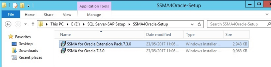 ssma for oracle installer
