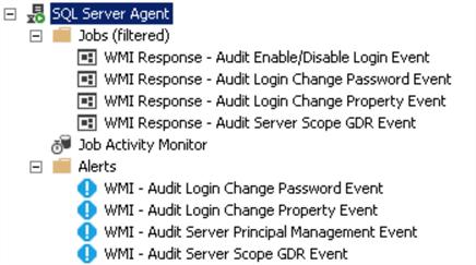 Automated WMI Alerts for SQL Server Login Property Changes