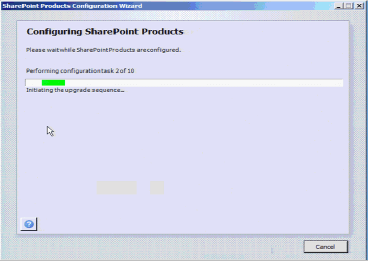 SharePoint Config Wizard
