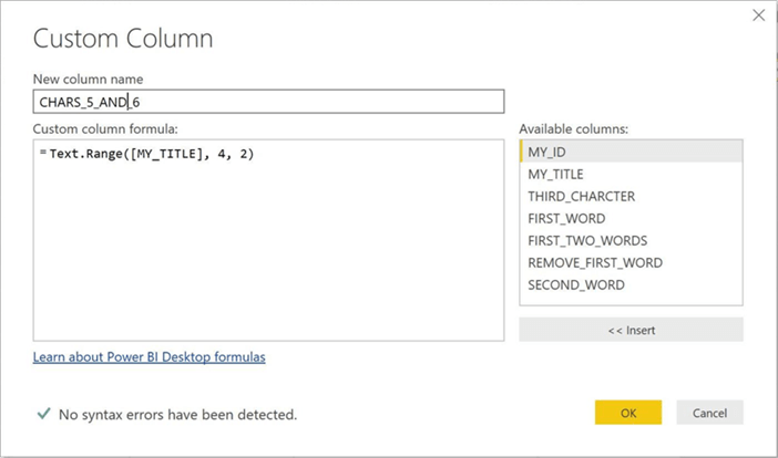 Text Extraction Using The M Language With Power Bi