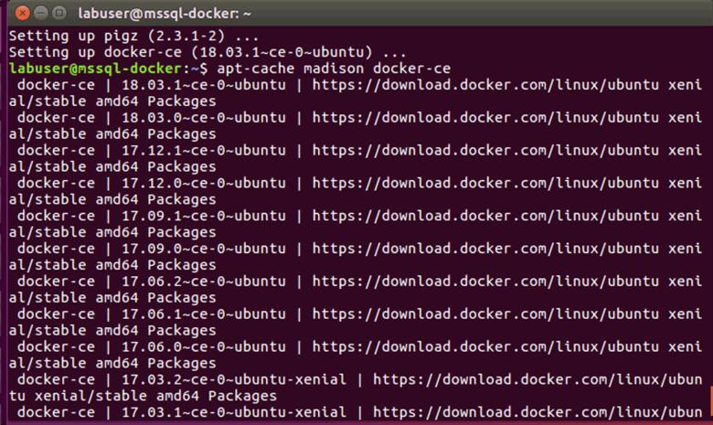 Docker with ubuntu usb