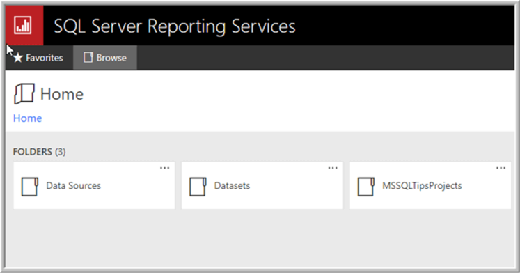 SQL Server Reporting Services Rest API