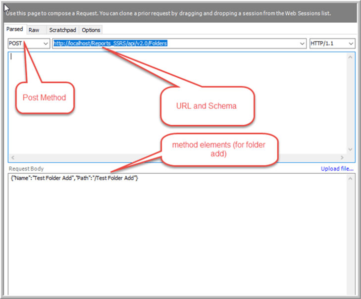 SQL Server Reporting Services Rest API