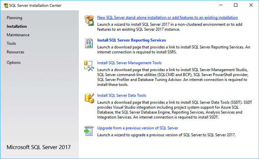 Getting Started with SQL Server 2017 Express LocalDB