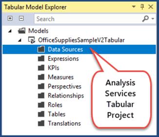 tabular model explorer