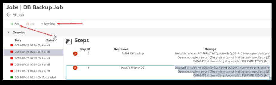 Add SQL Server Agent Management to SQL Operations Studio