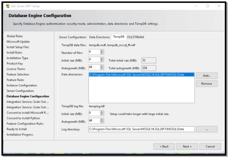 sql developer edition install database engine configuration