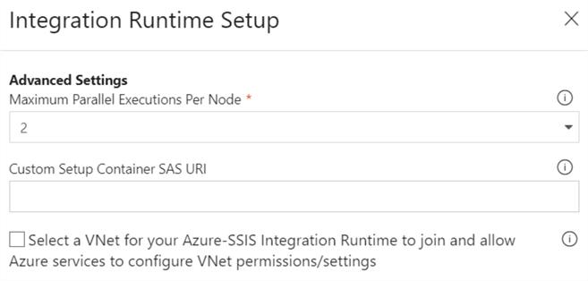 Configure an Azure SQL Server Integration Services