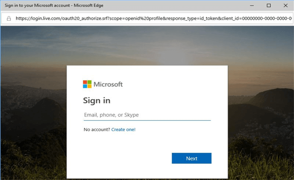 sign on to microsoft hands-on labs