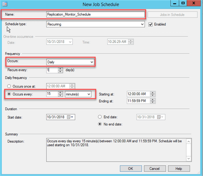 SQL Server Replication Latency Alert via Email