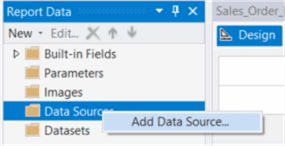 "The screenshot demonstrates how to select the ""Add Data Source…"" item from the context menu."