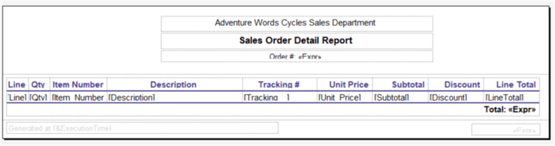 Creating a Detailed SQL Server Reporting Services Report