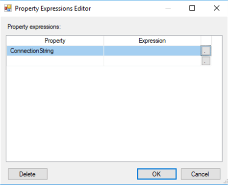 ssis expression editor
