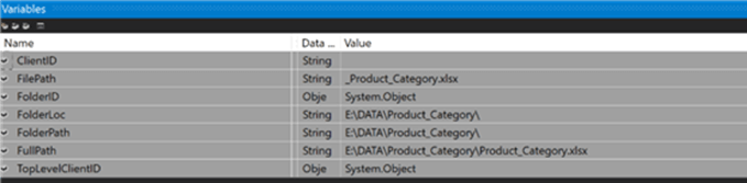 ssis variables