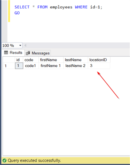 Working with SQL Server Stored Procedures and  NET