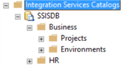 ssis information in ssms