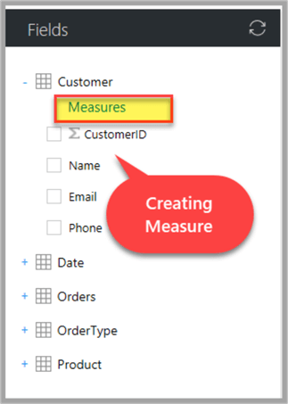 creating measure