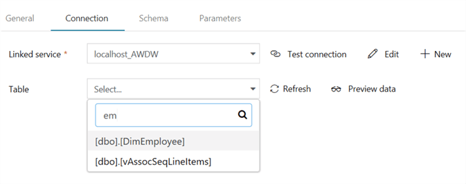 Connect to On-premises Data in Azure Data Factory with the Self