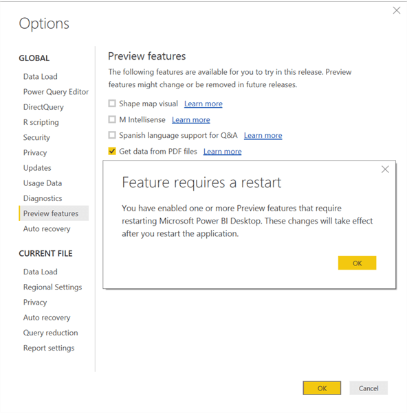 Read and Import Data from PDF Files using Power BI