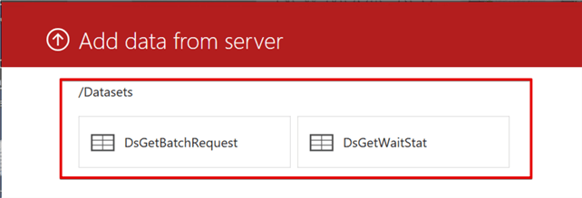 add data from server