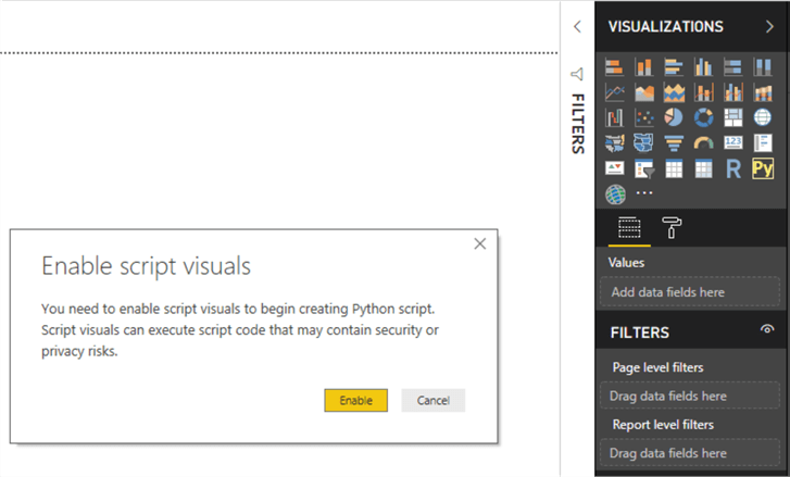 Visualize categorical scatterplots in Power BI with Python