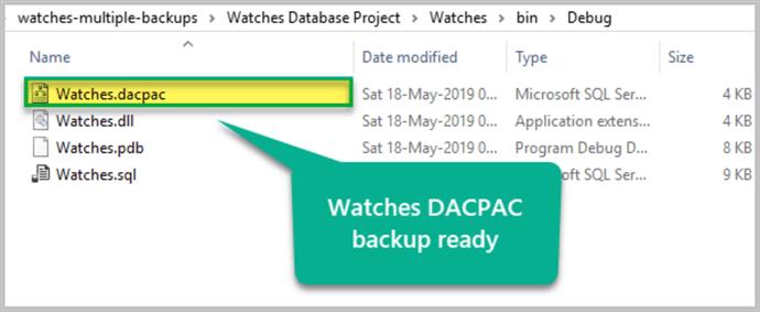 creating multiple sql server database backup formats in