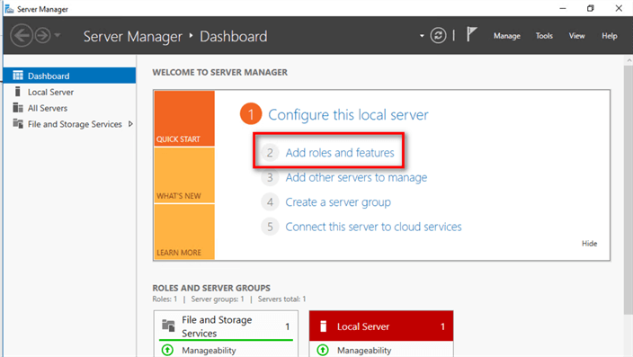 Configure Windows Server 2016 for Containers