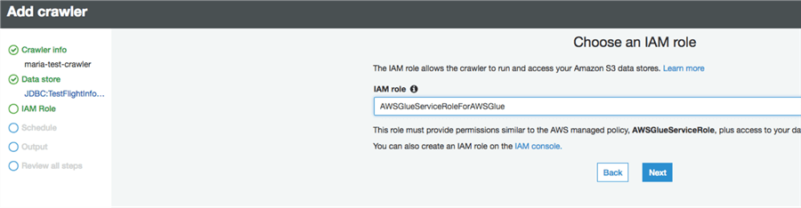 Serverless ETL using AWS Glue for RDS databases
