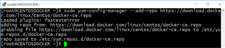 Add the Docker stable repository to your system