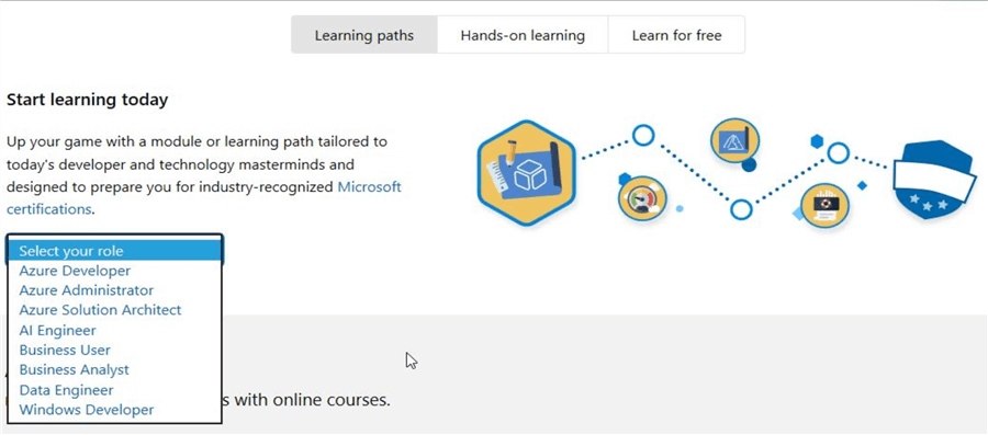 microsoft learn learning paths