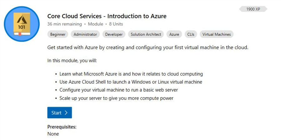 microsoft learn introduction to azure