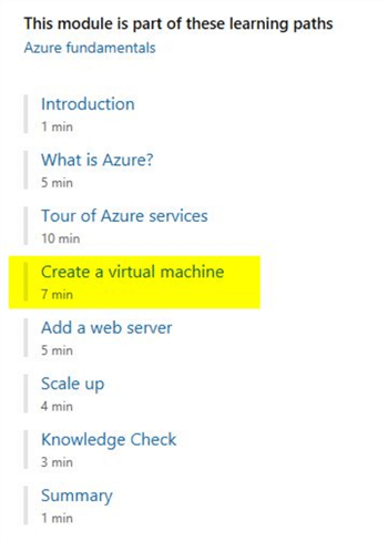 microsoft learn create vm
