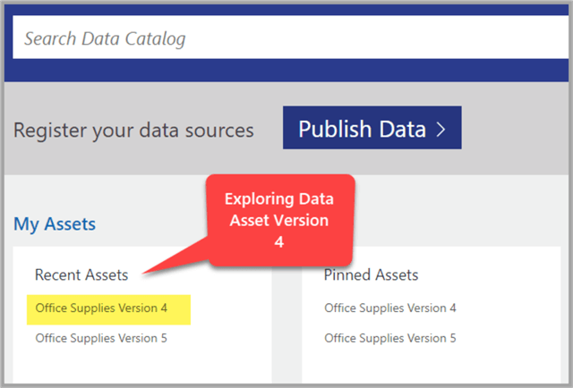 Exploring data source Office Supplies Version 4