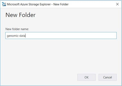 Azure Storage Explorer - Create new folder - This action will fail due to security.