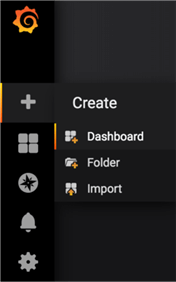 Create dashboard option