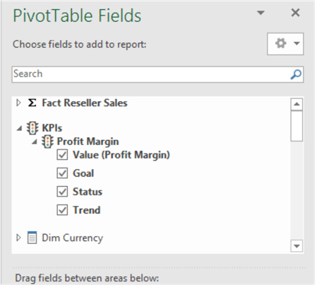 Excel PivotTable Fields