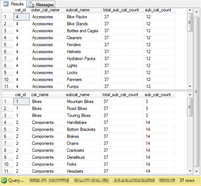 SQL Server Uncorrelated and Correlated Subquery