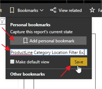 Add New Personal Bookmark