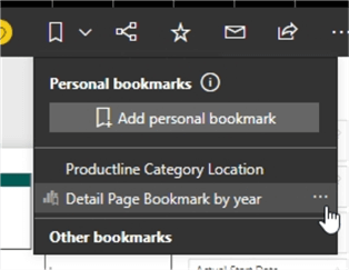 The default bookmark.