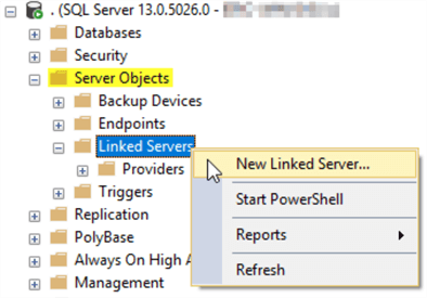 Understanding SQL Server Linked Servers