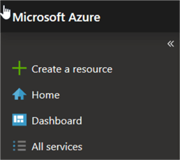Azure Portal - All Services