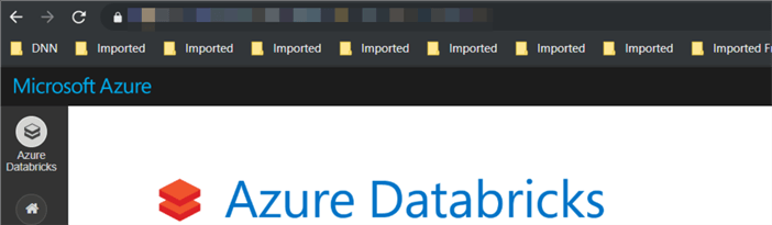 Azure Databricks - Home Page
