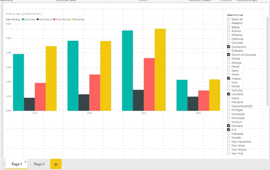 Power BI Performance Analyzer
