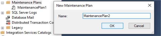 new maintenance plan