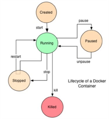 container lifecycle