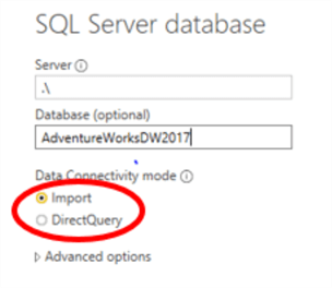 connect to database