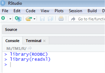 rstudio libraries