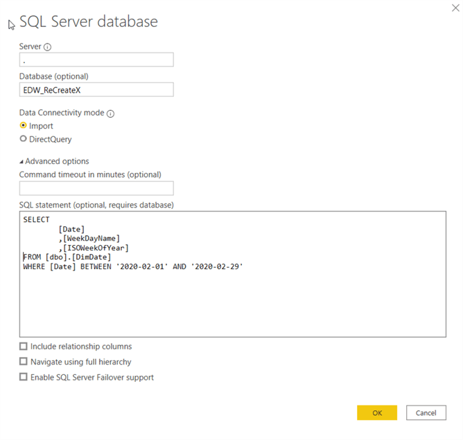 Importing Data into Power BI